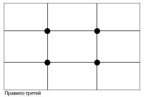 законы композиции в фотографии