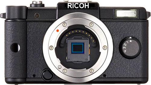 Ricoh-Pentax mirrorless camera
