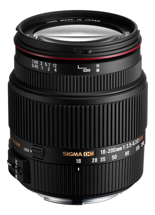 Sigma 18-200mm F3.5-6.3 II DC OS