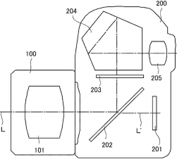 Patent Canon Half Mirror Camera