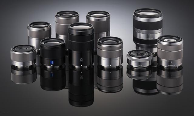Прототипы объективов линейки NEX