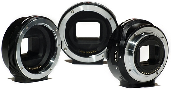 Переходник Canon EF для камер Sony NEX
