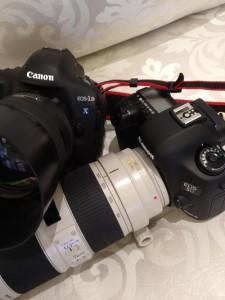 Canon EOS 5D Mark III и EOS 1D X