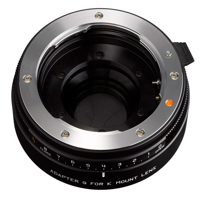 Pentax K-mount adapter for Q