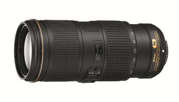 Объектив Nikkor AF-S 70-200мм f/4G ED VR