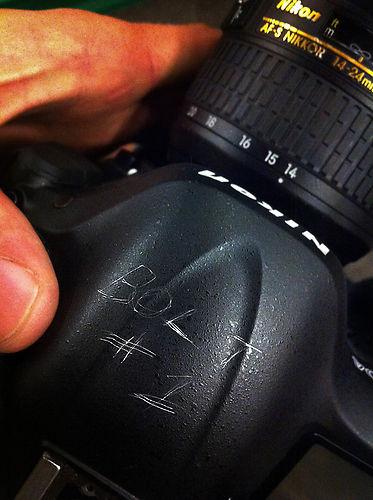 Nikon D4, которым Усэйн Болт сделал несколько кадров