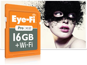 Карта памяти Eye-Fi released a new Pro X2 SDHC 16Гб Class 10