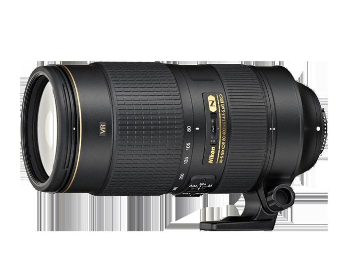 Nikkor AF-S 80-400мм f/4.5-5.6G ED VR
