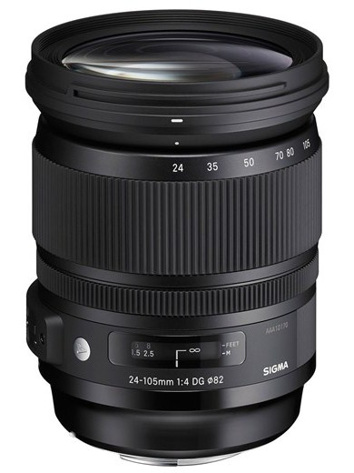 Sigma 24-105мм F4 DG OS HSM